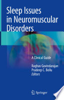 Sleep Issues In Neuromuscular Disorders Book PDF