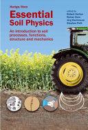Essential Soil Physics