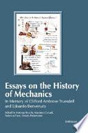 Essays on the History of Mechanics