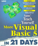 Sam s teach yourself more Visual Basic 5 in 21 days