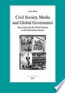 Civil Society Media And Global Governance Book PDF