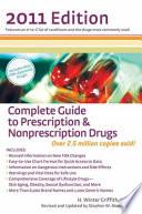 Complete Guide to Prescription   Nonprescription Drugs 2011 Book