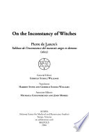 On The Inconstancy Of Witches