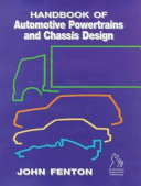 Handbook of Automotive Powertrain and Chassis Design Book