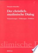 Der christlich-muslimische Dialog