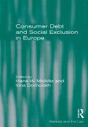 Consumer Debt and Social Exclusion in Europe [Pdf/ePub] eBook