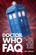 Pdf Doctor Who FAQ Telecharger