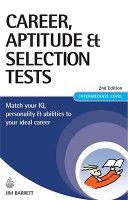 Career  Aptitude   Selection Tests