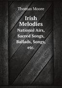 Pdf Irish Melodies Telecharger