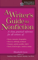 A Writer's Guide to Nonfiction