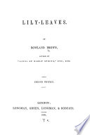 Lily-leaves