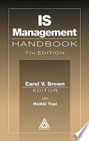 IS Management Handbook  Seventh Edition Book
