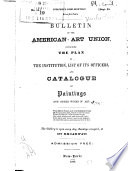 Bulletin of the American Art Union