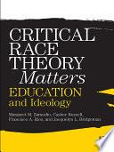 Critical Race Theory Matters Book PDF