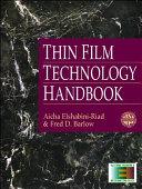 Thin Film Technology Handbook Book