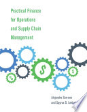 Practical Finance for Operations and Supply Chain Management Book