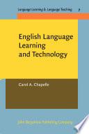 English Language Learning And Technology