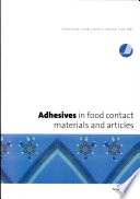Adhesives In Food Contact Materials And Articles Proceedings From A Nordic Seminar June 2001 Book PDF