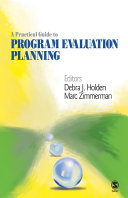 A Practical Guide to Program Evaluation Planning
