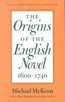 The Origins of the English Novel  1600 1740