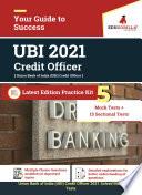 UBI Credit Officer 2021   5 Mock Tests   15 Sectional Tests for Complete Preparation