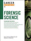 Career Opportunities in Forensic Science