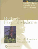 Pediatric Hospital Medicine Book