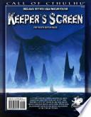 Call of Cthulhu Keeper's Screen
