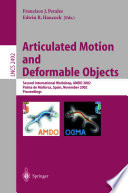 Articulated Motion and Deformable Objects Book
