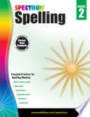 Spectrum Spelling Grade 2