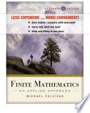 Finite Mathematics, Binder Ready Version