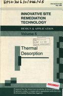 Innovative Site Remediation Technology, Design & Application, Volume 5