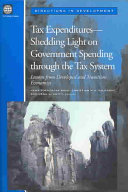 Tax Expenditures Shedding Light On Government Spending Through The Tax System