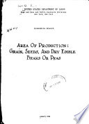 Area of Production  Grain  Seeds  and Dry Edible Beans Or Peas