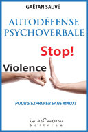 Autodéfense psychoverbale ebook