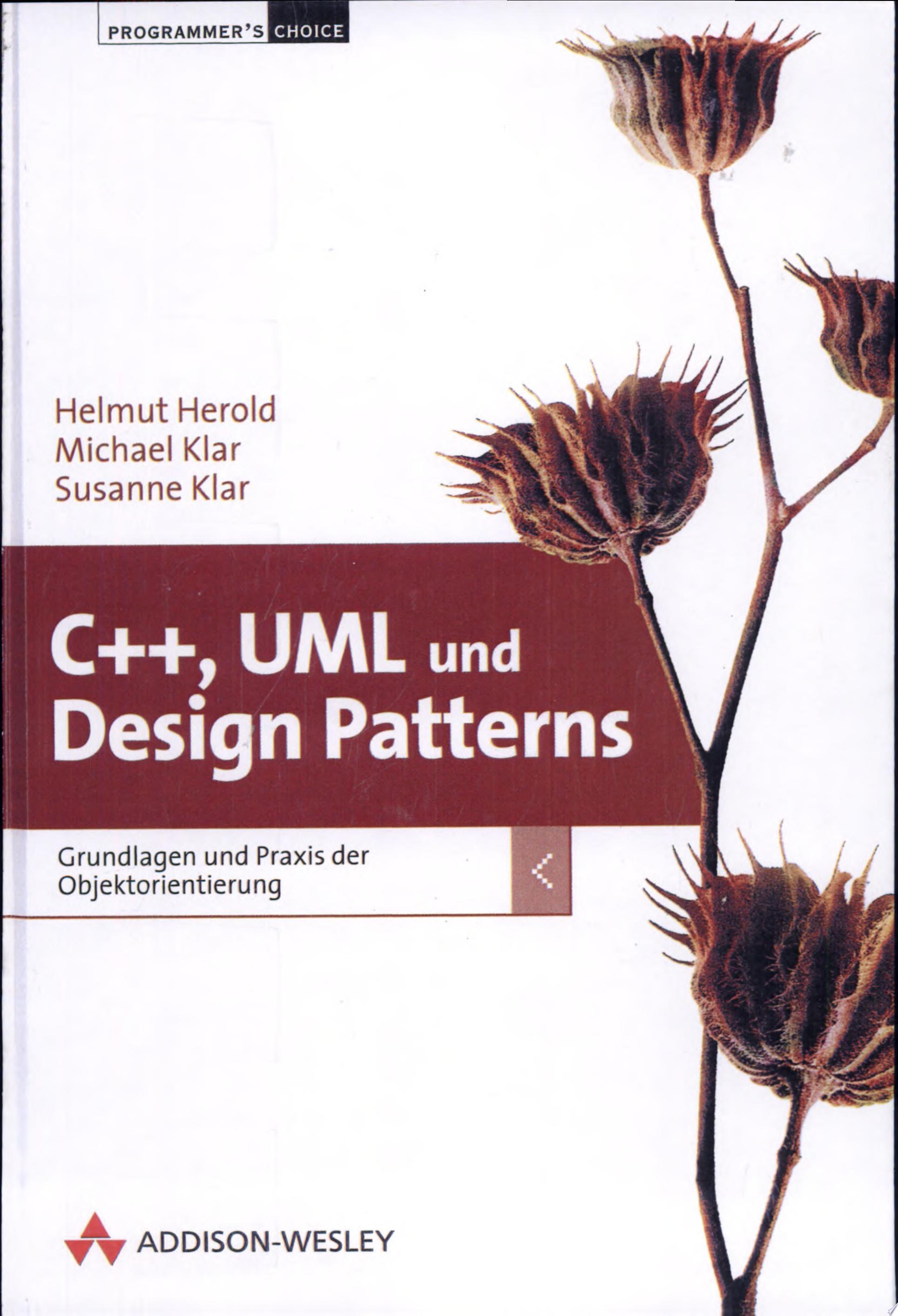 C    UML und Design Patterns