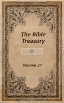 The Bible Treasury [Pdf/ePub] eBook