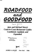 Roadfood and Goodfood Book