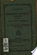 A Catechism of Christian Doctrine Book