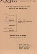 California Court Of Appeal 3rd Appellate District Records And Briefs