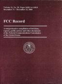 FCC Record