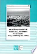 Seawater Intrusion in Coastal Aquifers