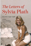 Letters of Sylvia Plath Book