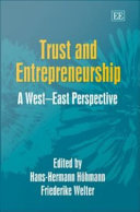 Trust and Entrepreneurship Book