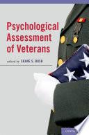 Psychological Assessment of Veterans Book