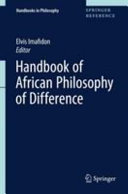 Handbook of African Philosophy of Difference