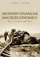 Modern Financial Macroeconomics