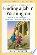 Insider's Guide to Finding a Job in Washington