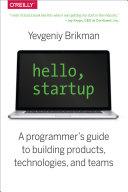 Hello, Startup