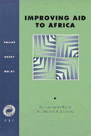 Improving Aid to Africa Book